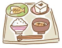 和食は加齢臭発生の抑制に役立つ